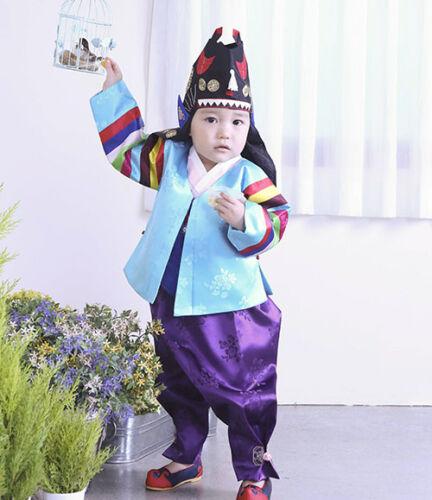 HANBOK Dolbok 1st Birthday Korean Korea Dress Baby Boy