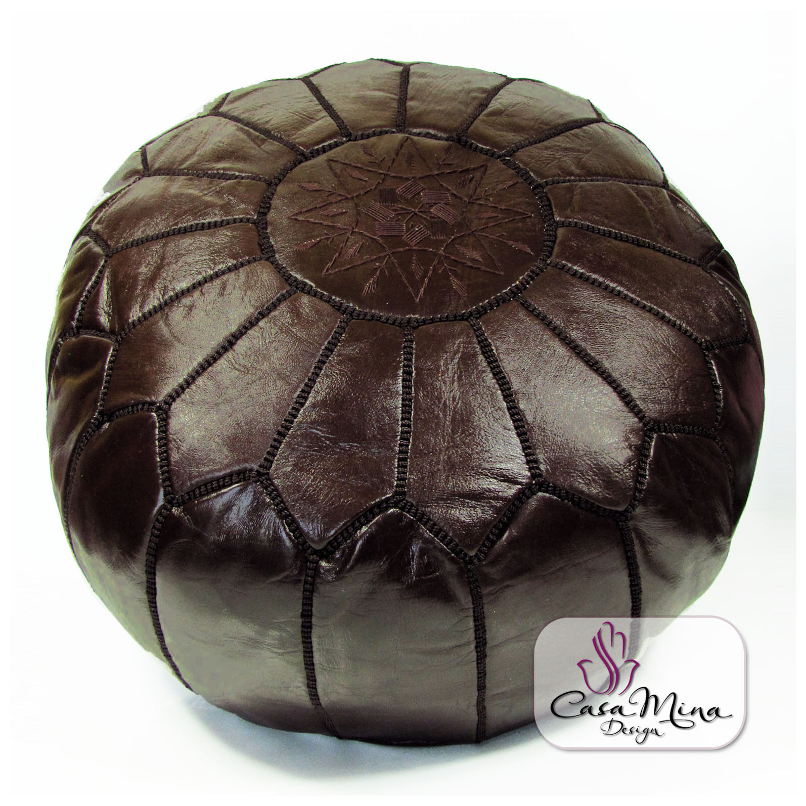 almadih leder sitzkissen lederkissen sitzhocker orientalische pouf lederhocker ebay. Black Bedroom Furniture Sets. Home Design Ideas