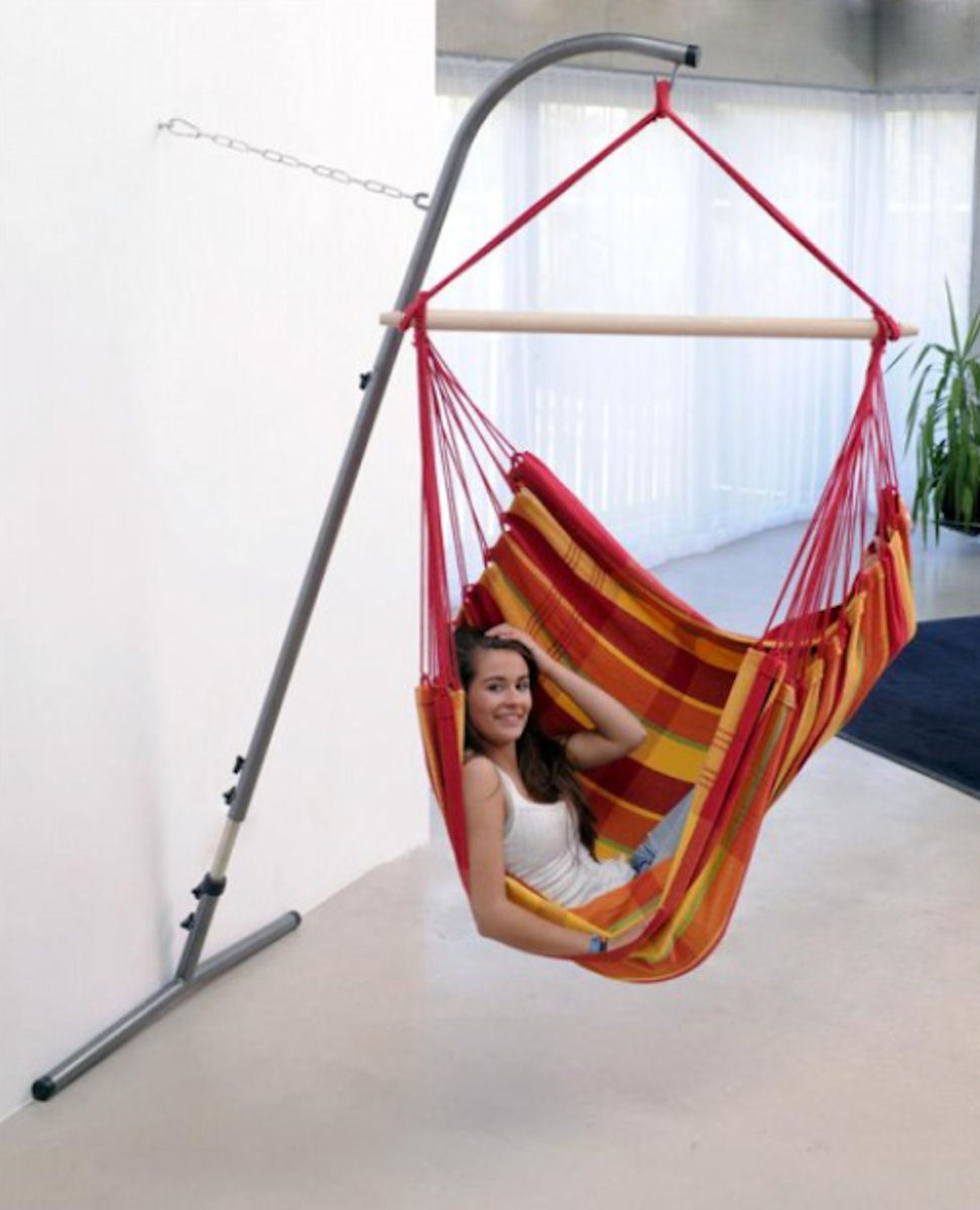 h ngesessel h ngestuhl gestell wandhalterung aufh ngung. Black Bedroom Furniture Sets. Home Design Ideas