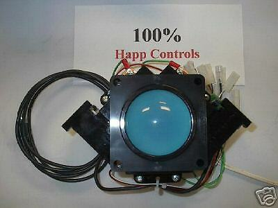 HAPP USB PS2 3 INCH TRACKBALL WITH FREE 3 INCH MOUNT MAME ARCADE JAMMA in Collectibles, Arcade, Jukeboxes & Pinball, Arcade Gaming | eBay