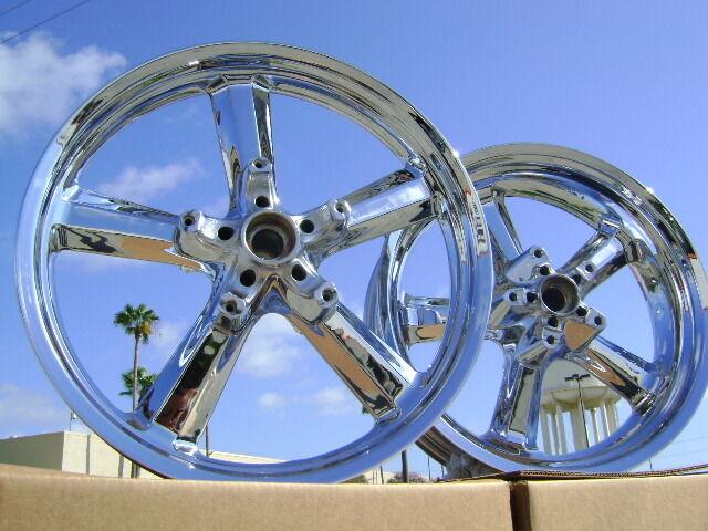 Harley Vrod V Rod Muscle Chrome Wheels Rims