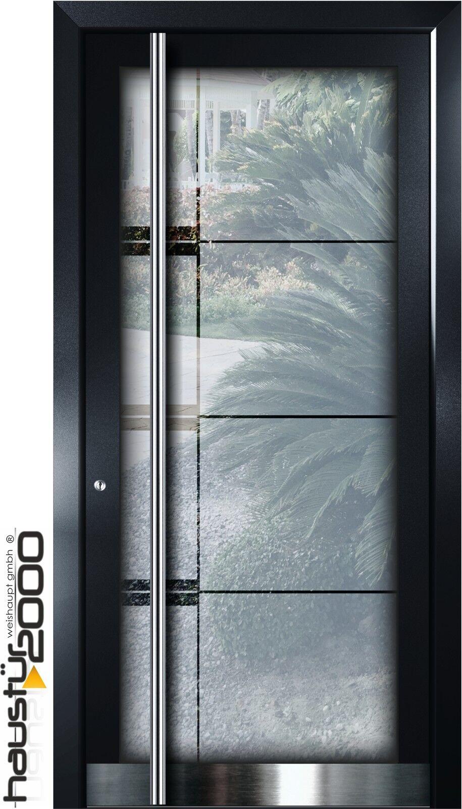 haust r2000 aluminium haust r ganzglasf llung alu t r n ma mod ht 5502 gla ebay. Black Bedroom Furniture Sets. Home Design Ideas