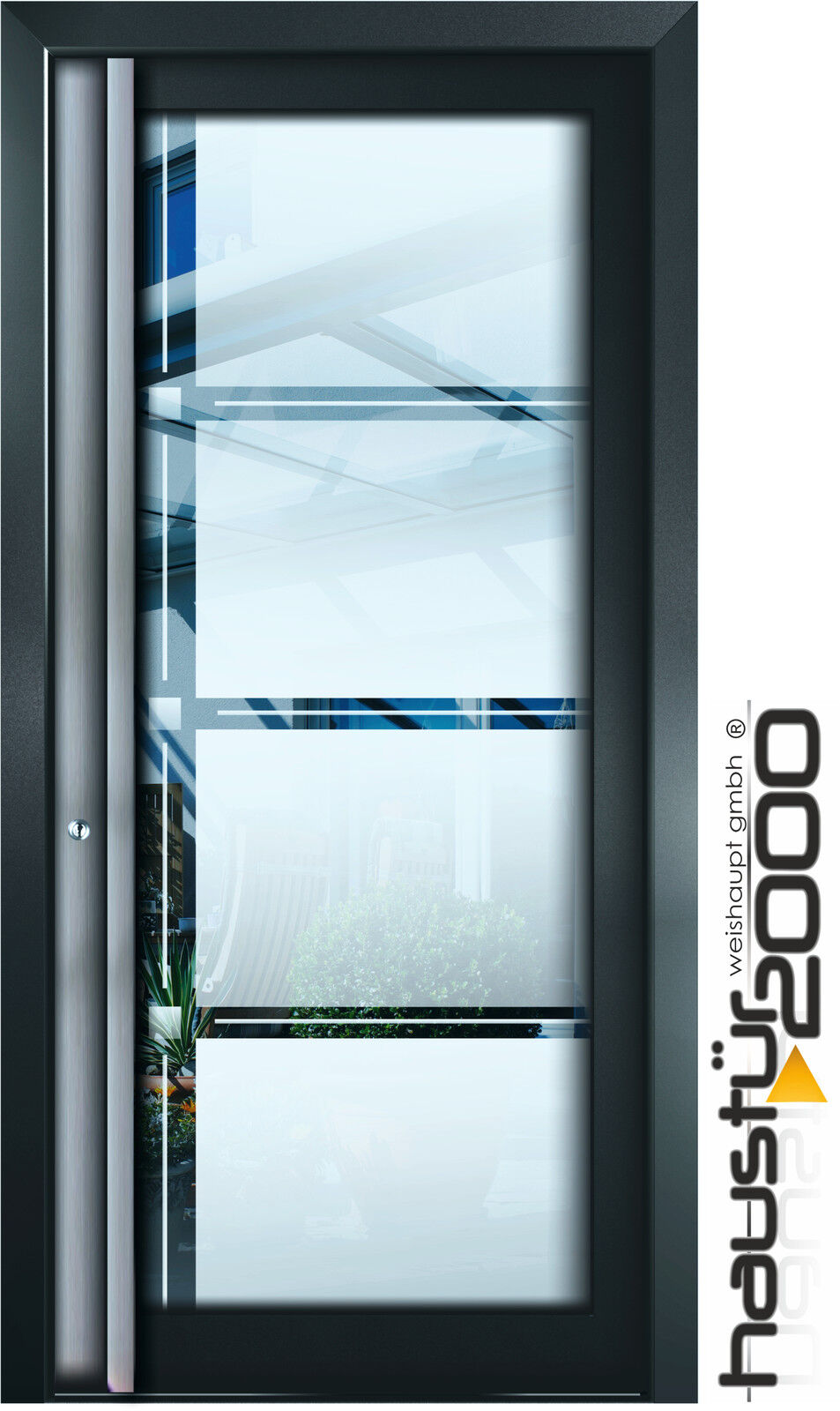 haust r2000 aluminium haust r glas t r alu haust ren nach ma mod ht 6512 gla ebay. Black Bedroom Furniture Sets. Home Design Ideas