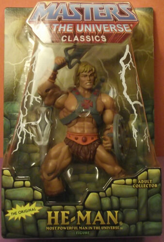 !! *HE-MAN* !! New! MISB MOTU Masters of the Universe Classics Free Shipping in Toys & Hobbies, Action Figures, TV, Movie & Video Games | eBay