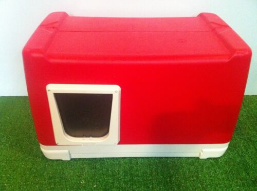 HEATED OUTDOOR CAT HOUSE, CAT POD, HOUSE, SHELTER, BED in Pet Supplies, Cat Supplies, Furniture & Scratchers | eBay