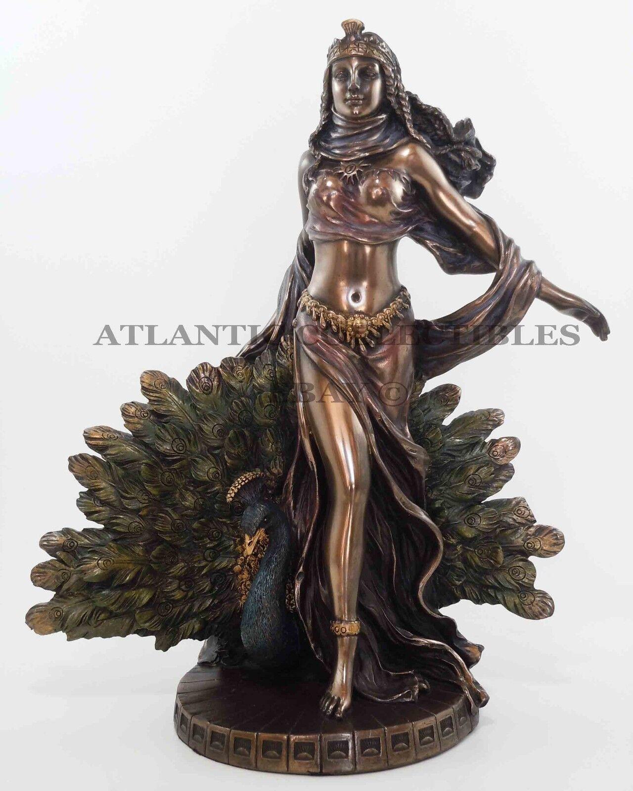 Peacock Home Decor Sale Greek Mother Goddess Hera Figurine Statue Zeus Wife Mount