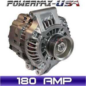 Acura  Parts on High Output Alternator Acura Rsx 2 0l Honda Crv 2 4l 2002 2006 180amp