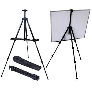 HIGH-QUALITY-ADJUSTABLE-ALUMINIUM-ARTIST-PAINTING-STUDIO-DISPLAY-TRIPOD-EASEL