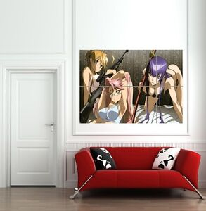 HIGHSCHOOL-OF-THE-DEAD-MANGA-ANIME-GIANT-WALL-ART-PRINT-POSTER-PICTURE-B883