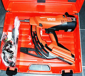 hilti gx120 me nail gun brand new more than 5 available ebay. Black Bedroom Furniture Sets. Home Design Ideas