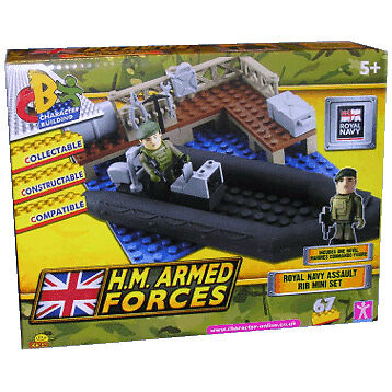 Hm Armed Forces Character Building Royal Navy Assault Rib