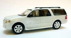 HO 1:87 RIVER POINT STATION Ford Expedition EL LIMITED : WHITE : Model SUV Car in Toys & Hobbies, Model Railroads & Trains, HO Scale | eBay