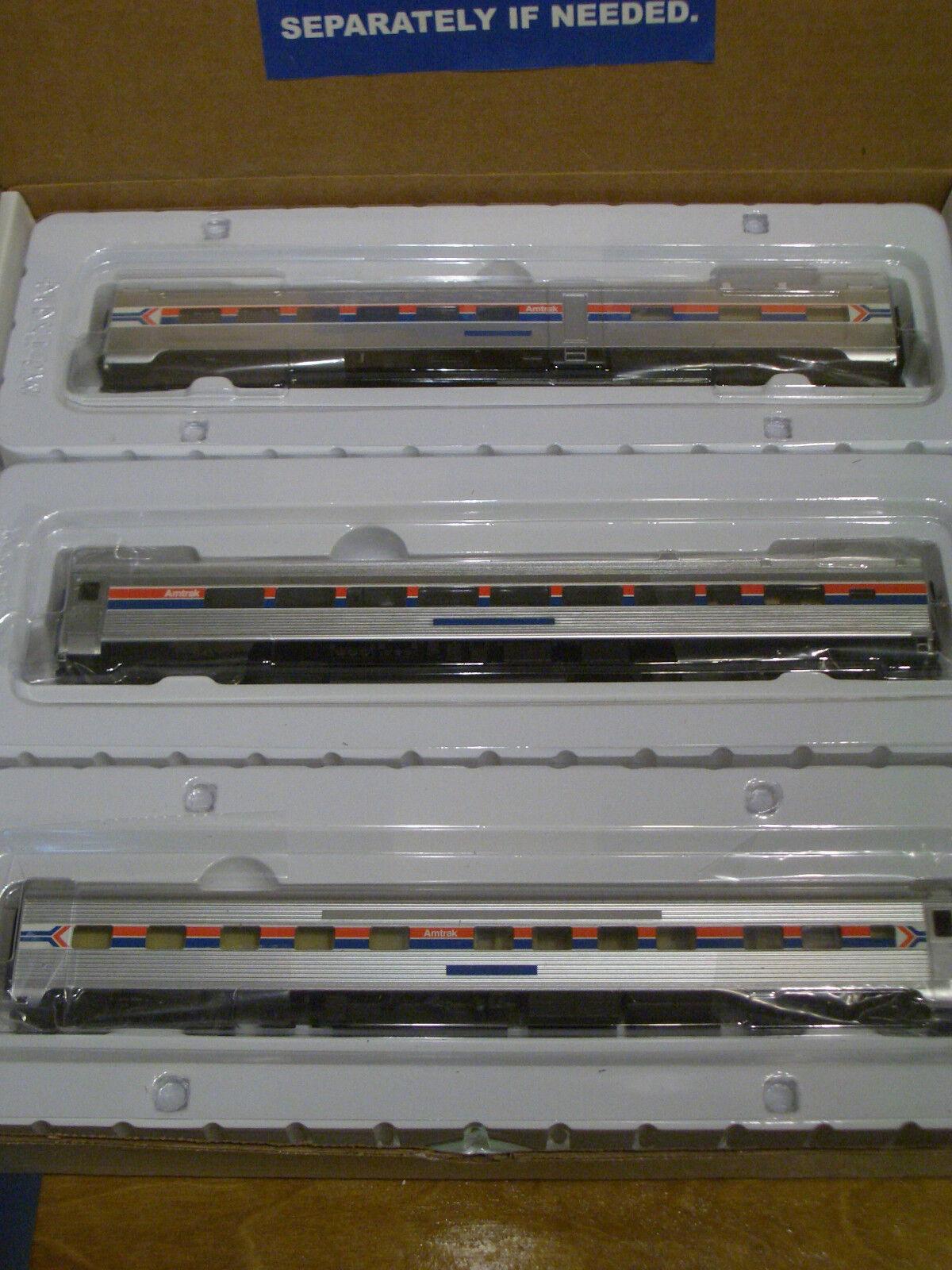 Amtrak train set ho scale