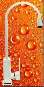 HOGA-Tokyo-Spueltischarmatur-Kuechenarmatur-Wasserkran-Hoehe-41cm-Matt-Weis-K2