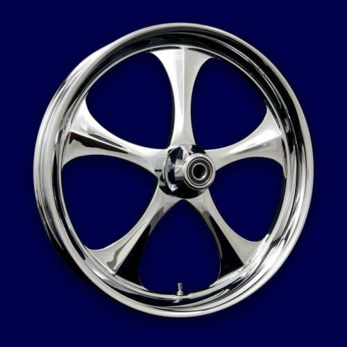 Shelby Custom Chrome Wheels Harley Softail Deluxe Standard 2000 13 NEW