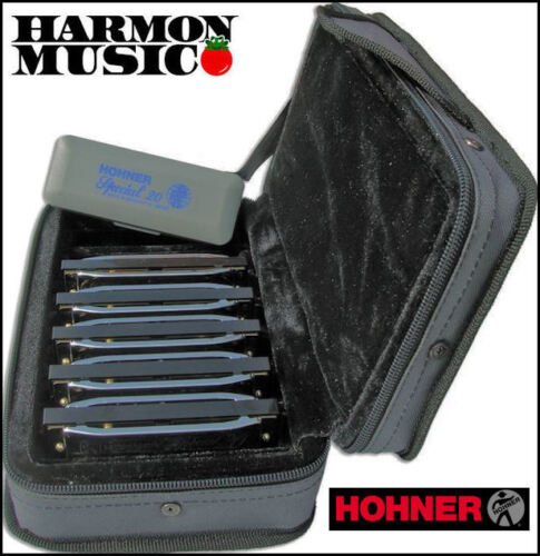 HOHNER SPECIAL 20 5 PACK W/ CASE SPC HARMONICAS HARP SET ! in Musical Instruments & Gear, Harmonica, Contemporary | eBay
