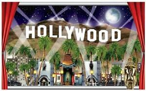 Hollywood Sign Party Decoration