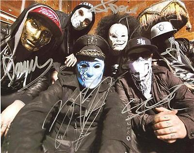 HOLLYWOOD UNDEAD FULL BAND SIGNED PHOTO 8X10 RP AUTOGRAPHED in Sports Mem, Cards & Fan Shop, Autographs-Reprints | eBay