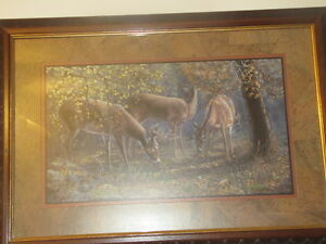 home interior deer pictures does fawns framed country home interior deer pictures shop collectibles online daily