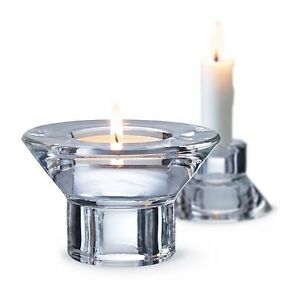 HOME-KONTOR-IKEA-8-x-Teelichthalter-Kerzenhalter-Kerzenstaender-Glas-Teelicht