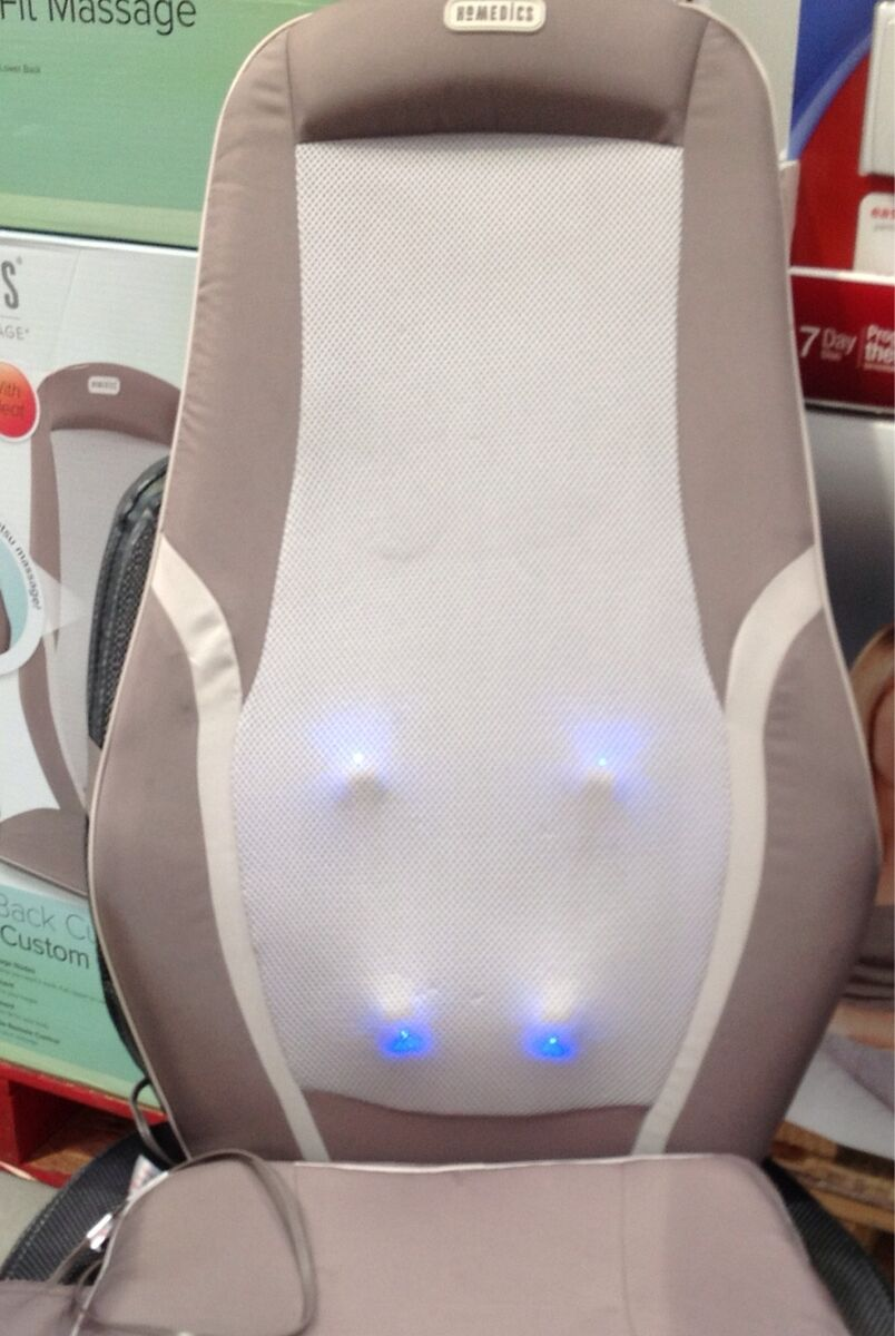 Homedics Shiatsu Back Massage with Heat Cushion