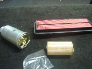 HONDA ACCORD 2 2CDTI 2003 2008 OIL AIR FUEL FILTER SERVICE