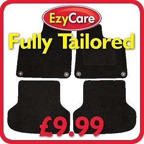 HONDA-CIVIC-2001-2006-5-DOOR-3-PIECE-FULLY-TAILORED-Car-Floor-Mats-Set-Black