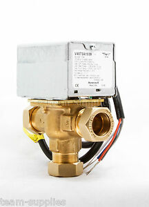 Motorized valve for zone control
