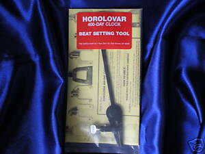 HOROLOVAR 400 DAY ANNIVERSARY CLOCK BEAT SETTING TOOL in Collectibles, Clocks, Parts & Tools | eBay