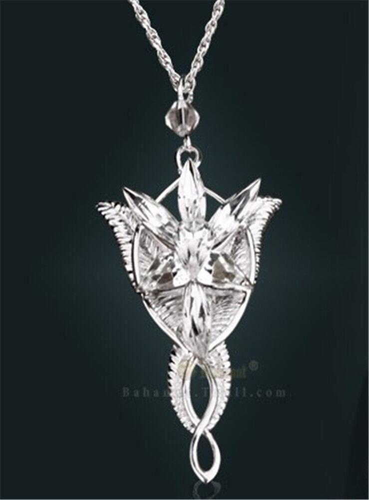 fashion jewelry lotr charm arwen evenstar silver