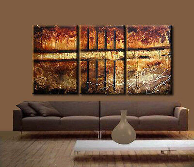 HOT SALE MODERN ABSTRACT HUGE WALL ART OIL PAINTING ON CANVAS in Art, Wholesale Lots, Paintings | eBay
