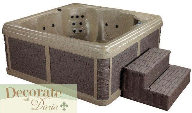 person portable spa hot tub