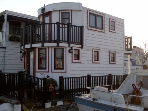 "HOUSE BOAT~BARGE ""FLOATING 1 BR COTTAGE"" in Real Estate, Other Real Estate 