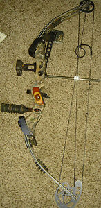 Hoyt Havoc Bow http://www.ebay.com/itm/HOYT-HAVOC-BOW-RIGHT-HAND-28-5-70lb-fully-loaded-/251245450753