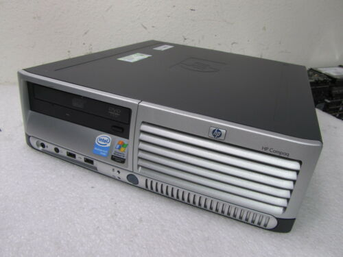 HP Compaq dc7700 SFF P4 HT 640 3.2GHz/2GB RAM/80GB Hard Drive/Combo/XP Pro in Computers/Tablets & Networking, Desktops & All-In-Ones, PC Desktops & All-In-Ones | eBay