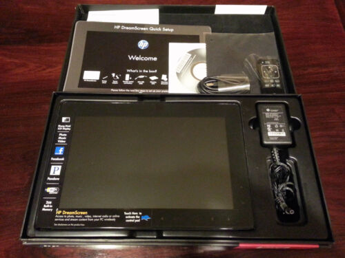 HP DREAMSCREEN 100 DIGITAL SMART PHOTO FRAME WIRELESS WIFI MINT CONDITION in Cameras & Photo, Digital Photo Frames | eBay