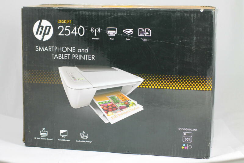 Hp Deskjet 2540 All In One Printer Wi Fi Printer Scanner