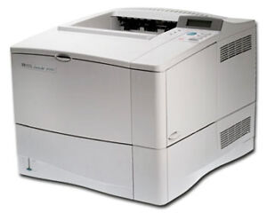 HP LaserJet 4100N Workgroup Laser Printe...