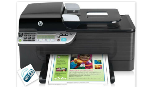 HP Officejet J4500 All-in-One Printer wireless Fax Scanner Copier Wi-Fi in Computers/Tablets & Networking, Printers, Scanners & Supplies, Printers | eBay