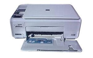 HP Photosmart C4380 All-in-one Printer / Scanner / Copier (White) | eBay