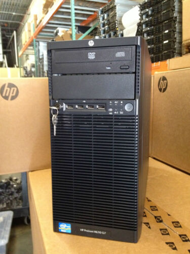 HP ProLiant Tower Server ML110 G7, QC 3.10GHz, 16GB, 1x 250GB SATA, DVD in Computers/Tablets & Networking, Enterprise Networking, Servers, Servers, Clients & Terminals | eBay