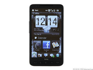 HTC HD2 - Black (O2) Smartphone