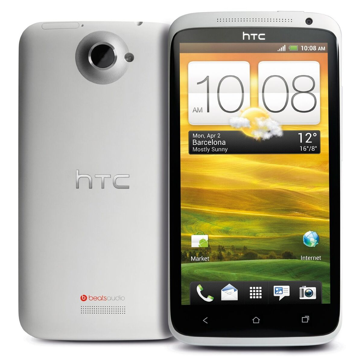 HTC One X   32GB  White ,Factory Unlocked Android Smartphone , Mighty