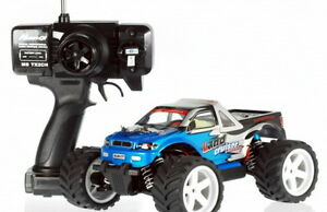 HUAN-QI-RC-MONSTER-TRUCK-710-1-18-FERNGESTEUERTES-AUTO-Buggy
