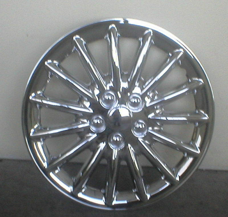 Hubcap Set 16 inch Chrome Alloy Wheel Look