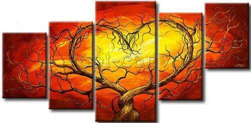 HUGE MODERN ABSTRACT WALL DECOR ART CANVAS OIL PAINTING No Framed 059