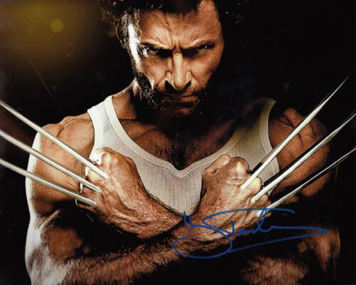 HUGH JACKMAN * * WOLVERINE * * ( X-MEN ) Autographed Photo RP in Entertainment Memorabilia, Autographs-Reprints, Movies | eBay
