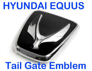 Hyundai Equus Kdm Tail Gate Emblem Trunk Badge For Rear Ebay