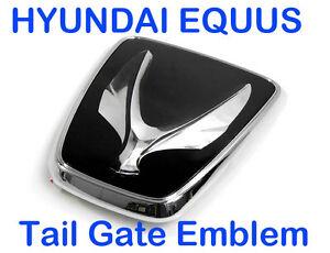 hyundai equus kdm tail gate emblem trunk badge for rear ebay. Black Bedroom Furniture Sets. Home Design Ideas