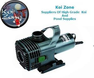 Hailea s20000 pond pump submersible dry mounted ebay for Koi zone pond aquatics